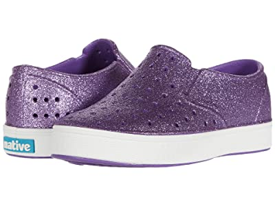 Native Kids Shoes Miles Bling (Little Kid) (Starfish Bling/Shell White) Girls Shoes