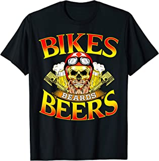 Mens Motorcycle Lover Gift Bikers Men MC Parties Vintage Meets T-Shirt