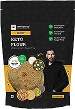 Ketofy - Keto Flour (1Kg)   Healthiest Low Carb Keto Atta   1g Net Carb Per Roti   Gluten Free   Ultra Low Glycemic