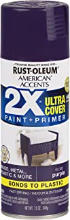 Rust-Oleum 327899 American Accents Spray Paint, 12 oz, Gloss Purple