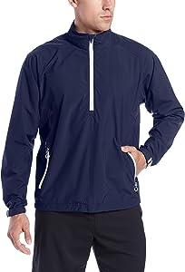 Zero Restriction Men's Power Torque 1/4 Zip Rain Jacket