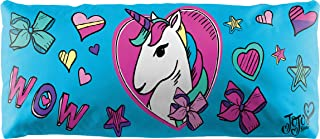 Jay Franco Nickelodeon JoJo Siwa Decorative Body Pillow Cover - Kids Super Soft 1-Pack Bed Pillow Cover - Measures 20 Inches x 54 Inches (Official Nickelodeon Product)
