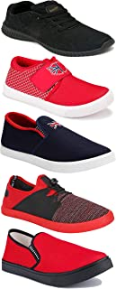 Shoefly Sports Running Shoes/Casual/Sneakers/Loafers Shoes for Men&Boys (Combo-(5)-1219-1221-1140-466-785)