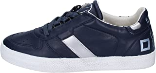 D.A.T.E. (DATE) Trainers Womens Leather Blue 6.5 US