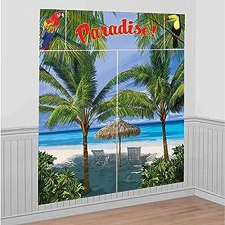 Amscan Palm Tree Party Scene Setter Decorating Kit