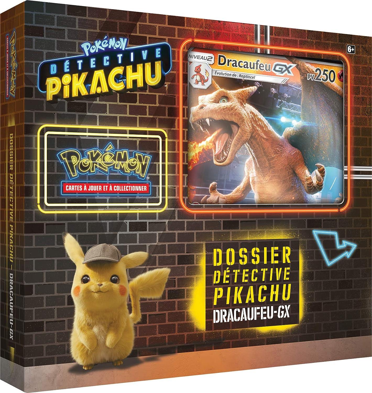 Pokemon PIKACHU GX Detective Film Set, POKSPEGX01
