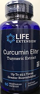Life Extension - Super Bio-Curcumin - 400 Mg - 60 Vcaps (Pack of 3)