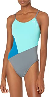TYR Women's Solid Splices Block Cutoutfit