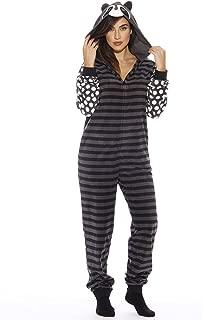 Animal Print Microfleece Adult Onesie One-Piece Pajamas