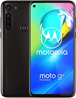 Moto G8 Power | Unlocked | International GSM Only | 4/64GB | 16MP Camera | 2020 | Black | NOT compatible with Sprint or Ve...