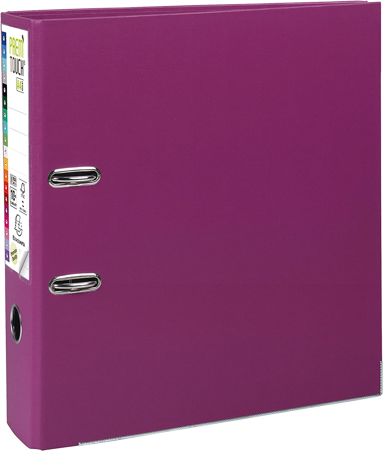 Exacompta Prem'Touch PP Lever Arch File - A4 Long-awaited 80 Spine mm Maxi Minneapolis Mall