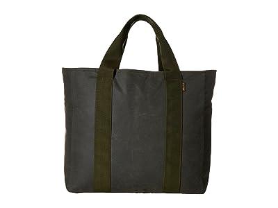 Filson Large Grab N Go Tote (Spruce) Tote Handbags