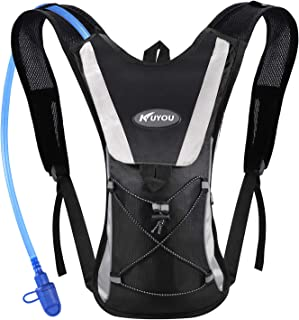 KUYOU Hydration Pack with 2L Hydration Bladder Water Rucksack Backpack Bladder Bag..