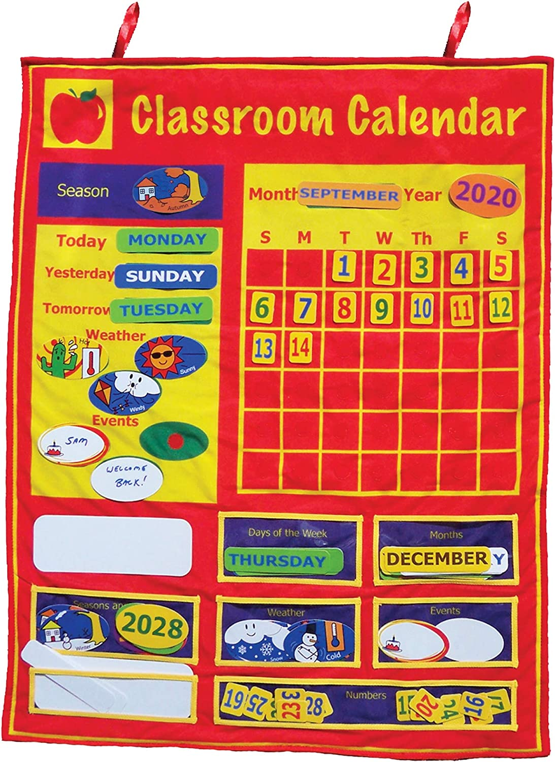 Get New color Ready Kids Classroom Ranking TOP13 Calendar X 33 in 26