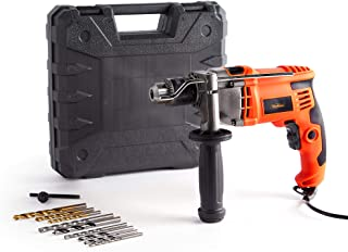 Sponsored Ad – VonHaus 850W Impact Hammer Drill – for Stone Masonry Brick Metal & Wood - Electric - Variable Speed - 13mm ...