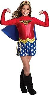 Rubie's Costume Girls DC Comics Wonder Costume, Small, Multicolor
