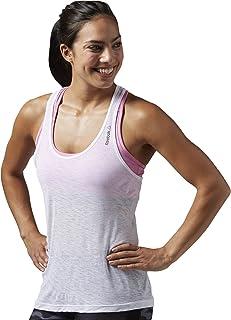 Reebok Women's Work Out Ready Burnout Tank Top