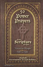 50 POWER PRAYERS from SCRIPTURE for YOU - Verses and Prayer Side-By-Side: Gratitude Encouragement Strength Guidance (Classic Cover with Cross)