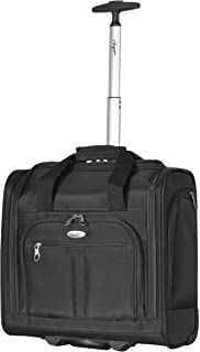 Olympia Under The Seat Carry-on, Black, One Size