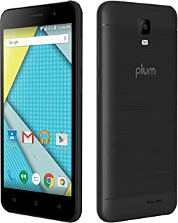 Plum Compass 2-4G GSM Unlocked Phone Android 8.0 ATT Tmobile 8GB + 8MP Camera - Black