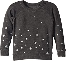 Extra Soft Glittery Starry Night Pullover Sweater (Toddler/Little Kids)