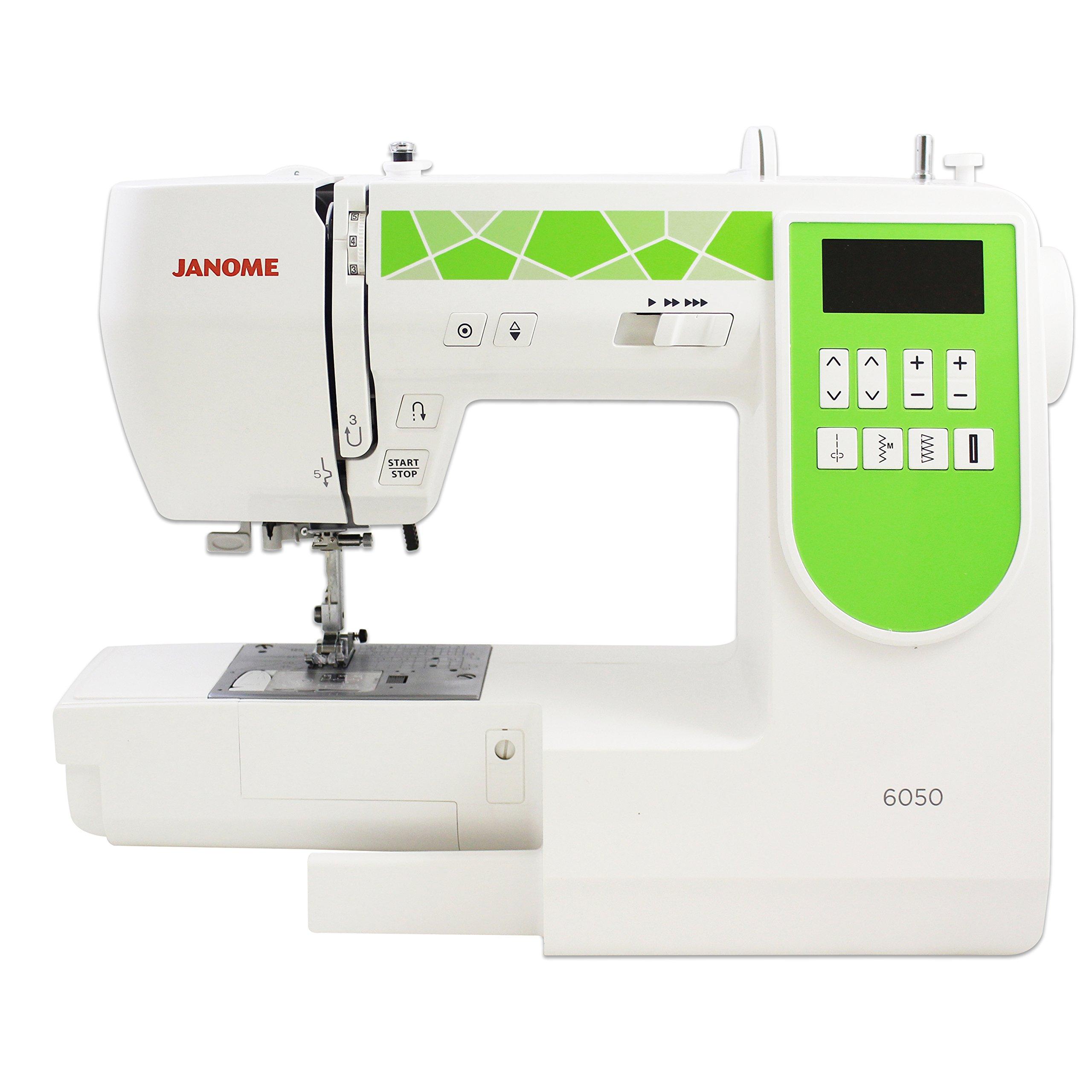 Janome 6050 máquina de coser computarizada con exclusivo paquete ...