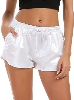 Best white drawstring shorts Reviews