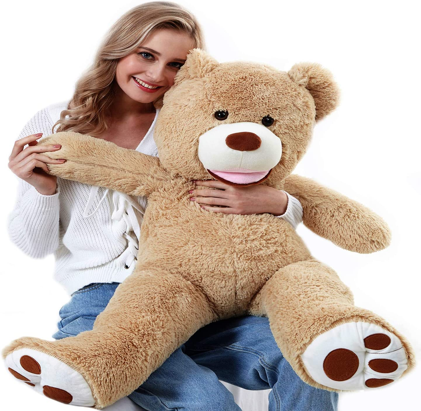ChiFit Giant Teddy Bear with Selling Footprints Limited price sale Big 39 4