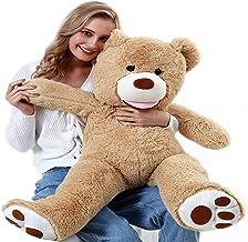 """ChiFit Big Teddy Bear 39"""", Teddy Bears Stuffed Animals, Giant Teddy Bear ,Tan"""