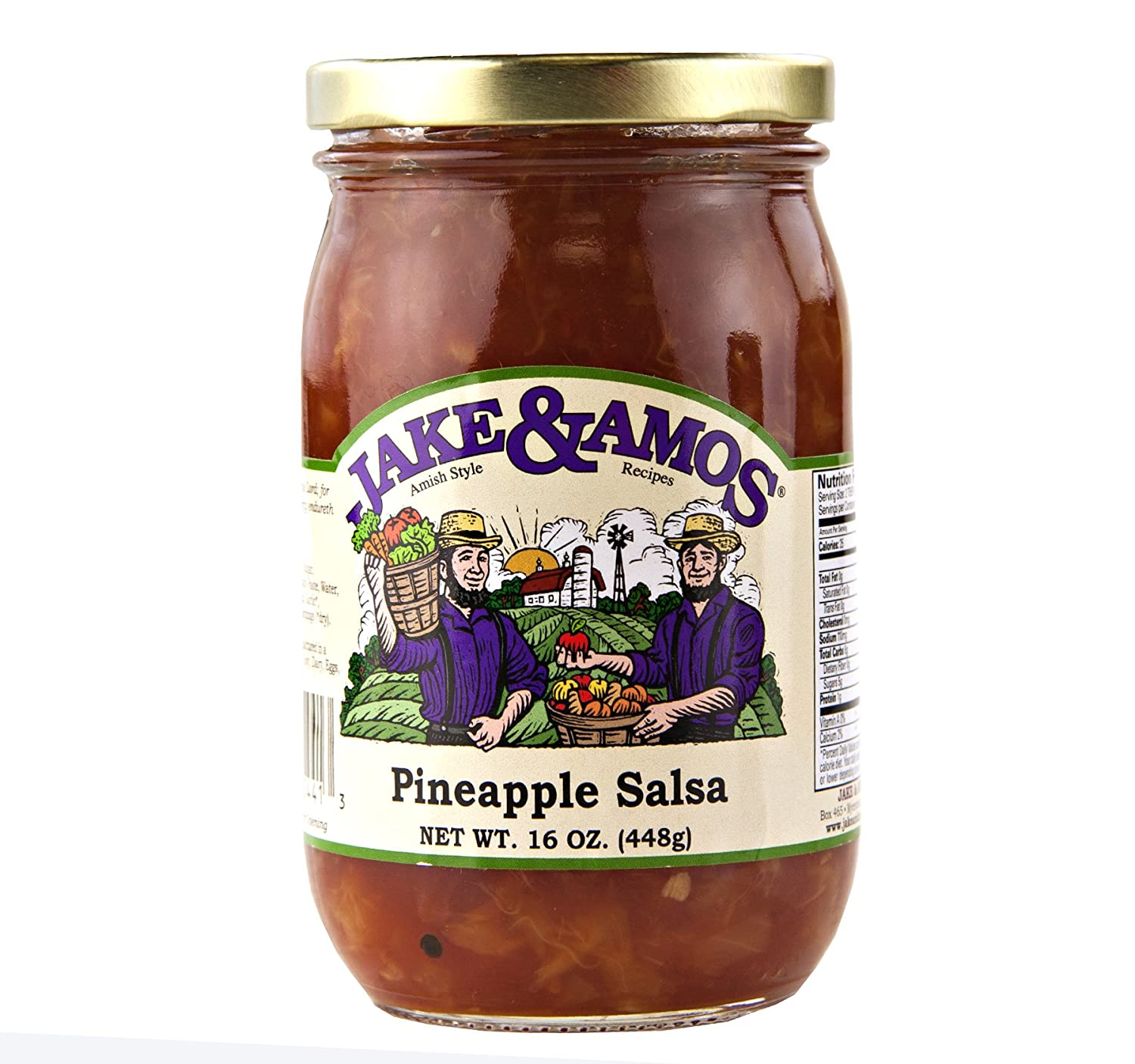 Jake Amos Pineapple Salsa All items in the store Jars 3 oz. 16 Ranking TOP14