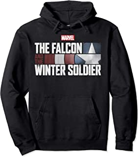 The Falcon And The Winter Soldier Shield Logo Pullover Hoodie