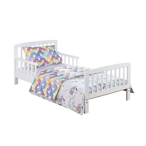 buy popular ac8e9 3db9f Toddler Bed with Mattress Included: Amazon.co.uk