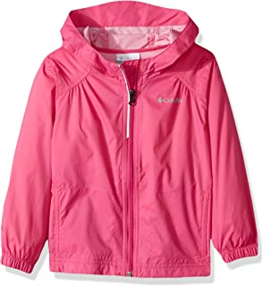 Youth Girls' Switchback Rain Jacket, Waterproof & Breathable