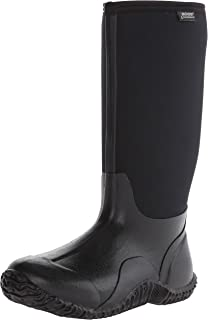 Womens Classic High No Handle Waterproof Insulated Rain and Winter Snow Boot