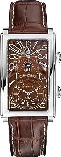[クエルボ・イ・ソブリノス]Cuervo y Sobrinos 腕時計 紳士用 デュアルタイム 1124-1ATG メンズ 【正規輸入品】