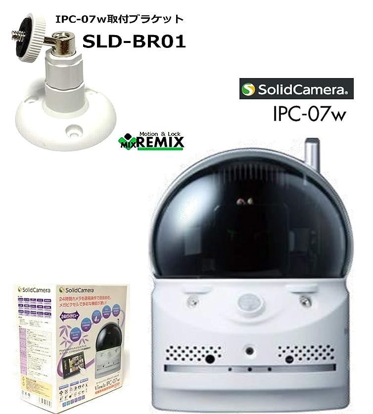 公使館から知性お待たせしました 反転取付が簡単! IPC-07w + SLD-BR01 ブラケット付 セット販売