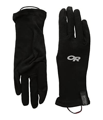 Outdoor Research Woolly Sensor Liners (Black) Ski Gloves