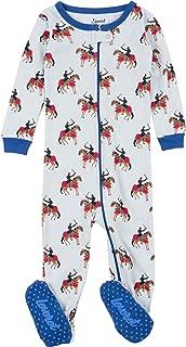 Kids Pajamas Baby Boys Girls Footed Pajamas Sleeper 100% Cotton (Size 6-12 Months-5 Toddler)