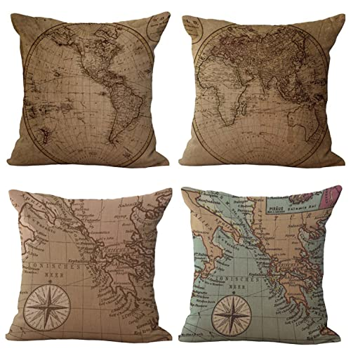 LIVE LAUGH or LOVE Country Charm Throw Accent Pillow Rustic Primitive Star Decor