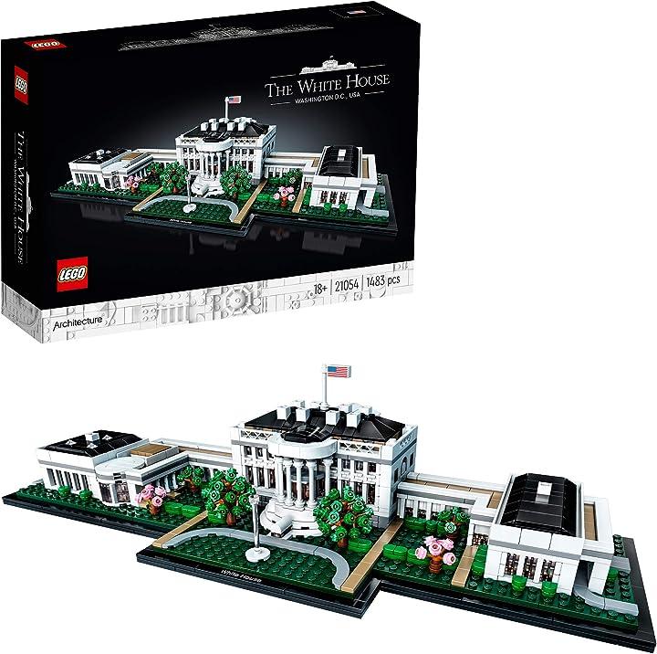 Casa bianca costruzioni lego 21054