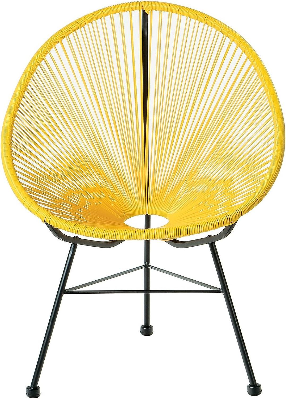 silver Import PDI-WR-1350-K-ye Acapulco Kids Chair, Yellow