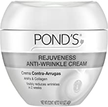 Pond's Rejuveness Anti-Wrinkle Face Cream Anti-Aging Face Moisturizer With Alpha Hydroxy Acid and Collagen 14.1 oz