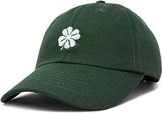 DALIX Four Leaf Clover Hat Baseball Cap St. Patrick's Day Cotton Caps