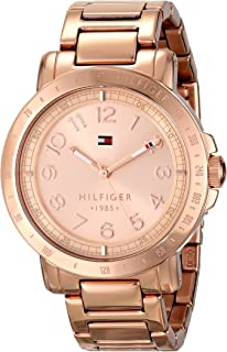 Tommy Hilfiger Women's 1781396 Rose Gold-Tone Watch