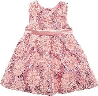Little Girls' Sequin Soutache Dress