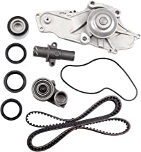 SCITOO for 03 04 05 06 07 08 09 10 11 12 13 14 15 Acura MDX /05 06 07 Honda Accord,Replaceable Timing Belt kit Including Timing Belt Water Pump with Gasket tensioner Bearing etc