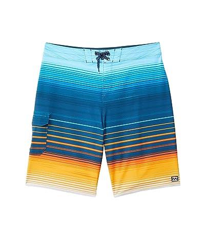 Billabong Kids All Day Stripe Pro Swim Shorts (Big Kids) Boy