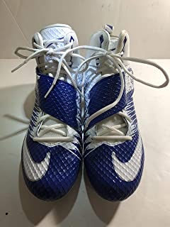half off c443f 3e97d Dallas Cowboys Game Used Nike Strike Lunarbeast Pro TD Mens Size 13.5  Football Cleats- Navy