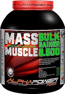 ALPHAPOWER FOOD Maas - Whey, Muscle Weight Gainer I Mega, Mu