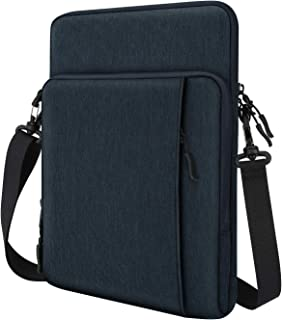 """Dadanism 12.9 Inch Tablet Sleeve Shoulder Bag Fit New iPad Pro 12.9 2020/2018, Protective Waterproof Pouch Case for 12.3"""" ..."""